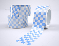 Shipping Packaging Tape Mock-Up