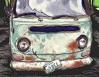 Abandoned Volkswagen Bus