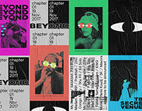 BEYOND - Nightlife Event Branding