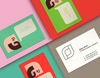 Brand Identity Promotional Business Cards
