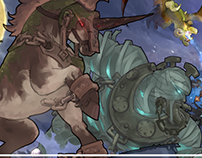 "Tree of Savior Art Contest: ""Nightmare is Coming"""