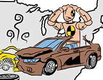 Automobile Injury: Storyboard