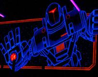 Laserbase Wallpainting