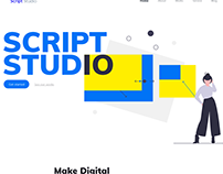 Website design - Script Studio