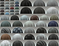 56 Fabric Materials - COMPLETE PACK - 4K - Tileable