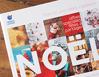 Concept catalogue Noël France Loisirs