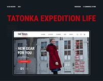 Tatonka e-commerce redesign
