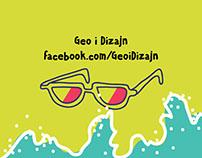 Summer style advertisement