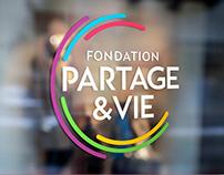 Fondation Partage & Vie - Branding et Identité Visuelle