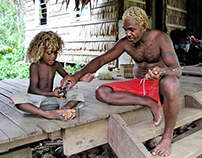 Nathan Dauota, Traditional fisherman, Solomon Islands