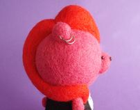 """""""Wicked Roxy"""" Art Bear"""