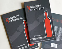 Book design - Balatoni Borkalauz