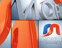 Morph Studios Logo Branding