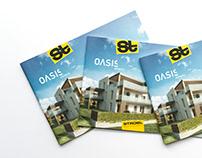 OASIS Andritz Folder für Strobl Bau – Holzbau