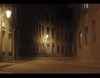Night Street Cricket. Nessi & Begemot. Flash animation