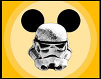 Poster Fusión Disney Wars