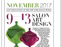 NYC&G November 2017 Issue - Calendar