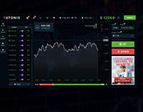 Online platform for trading in binary options and forex