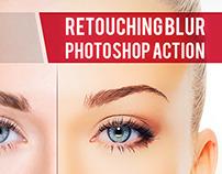 Blur Retouching Action