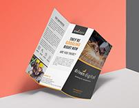 Driven Digital Trifold Brochure