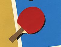 Table Tennis Team Red II