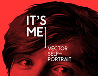 'It's Me!' | Vector Self-Portrait