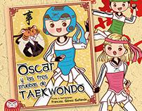 Oscar y las tres pruebas de taekwondo
