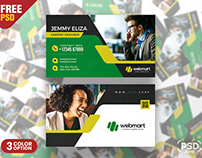 Digital Marketing Company Business Card PSD