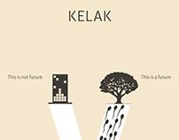 """Green Concept #4 : """"KELAK"""" Poster"""