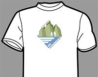 8K Meter Challenge T-shirt design