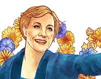 Julie Andrews - 80th Birthday Google Doodle