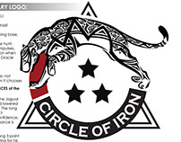 Circle of Iron BJJ Tournament Branding