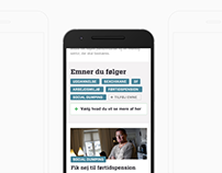 UX/UI: Redesigning 3F's news website for mobile-first
