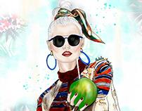Ilustración de moda - Colección Spring / Summer 2016