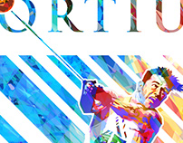 """""""FORTIUS"""" (Stronger) Hal Connolly Poster"""