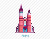 30 Landmark Icons