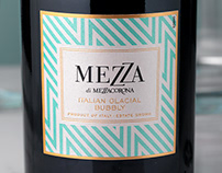 Mezza Glacial Bubbly (Mezzacorona) Package/Logo Design