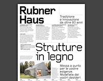 Poster - Rubner Haus