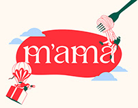 M'AMA Italian Taste Buds | THESIS PROJECT