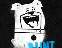 TUTORIAL: Spraypaint Stencil Art