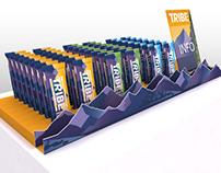 TRIBE bar CDU (Development) - 3D renders