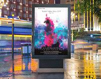 Fashion Show Poster and Ad Campaign Design