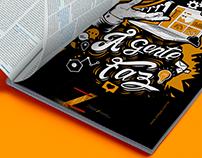 Ilustração Campanha Zoégas - Revista Meio & Mensagem