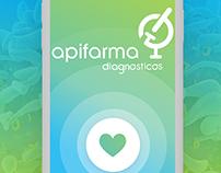 Apifarma Diagnósticos - App & microsite proposal