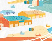 晃晃鐵道町|視覺設計