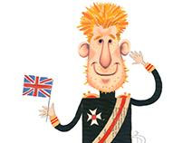 Prince Harry illustration