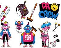 DACREW characters