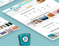 Website design Dry-cleaner's