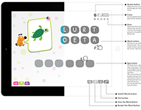 Spell, the dog - UX, UI & Prototype of a game for kids