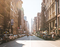 Most Beautiful Streets in New York City by Mike Luchen